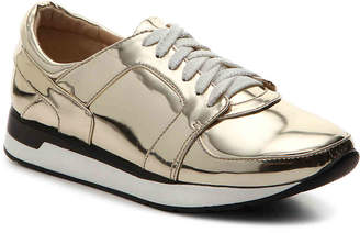 Penny Loves Kenny Techno Sneaker -Iridescent Silver Metallic - Women's