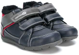 Geox Kids touch-strap sneakers
