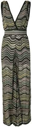 M Missoni striped jumpsuit