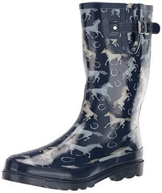 7709d21273e Western Chief Women s Printed Tall Rain Boot