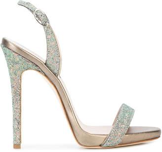 Giuseppe Zanotti Design Sophie glitter sandals
