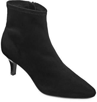 East Fifth east 5th Womens Newbury Bootie Stiletto Heel Zip
