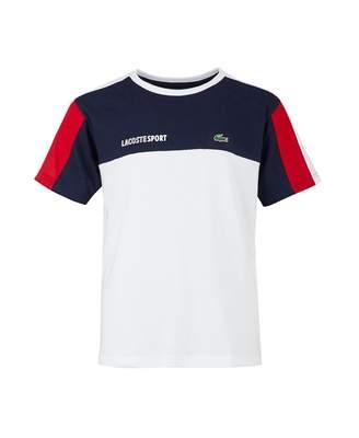 Lacoste Sport Contrast Panel Logo T-shirt