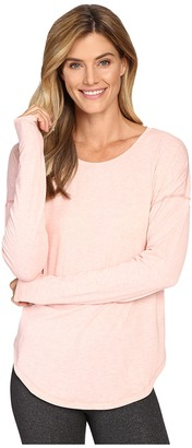 Lucy Final Rep Long Sleeve Top $55 thestylecure.com