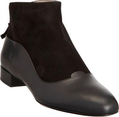 Giorgio Armani Combo Short Ankle Boot