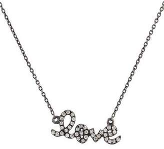 Sydney Evan 14K Diamond 'love' Pendant Necklace
