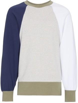 Visvim big sleeve cotton sweatshirt