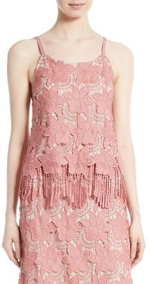 Women's Alice + Olivia Waverly Lace Camisole $250 thestylecure.com