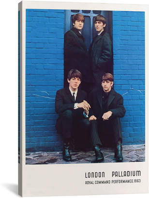 Icanvasart The Beatles 1963 Royal Command Performance Promotional Poster By Radio Days