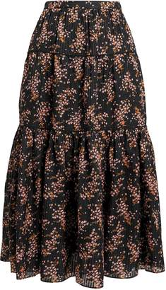 Ulla Johnson Auveline Midi Skirt