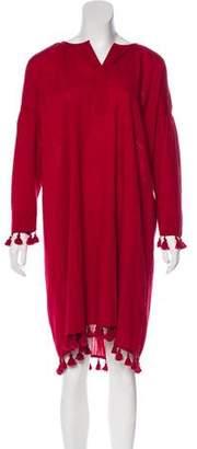 The Great Tassel-Accented Midi Dress w/ Tags