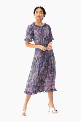 Rebecca Taylor Short Sleeve Giverney Fleur Dress