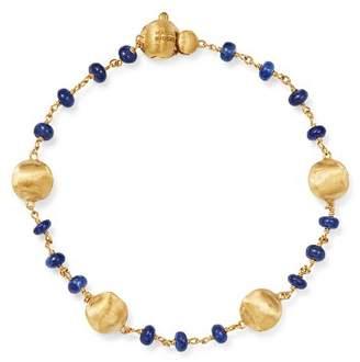 Marco Bicego 18K Yellow Gold Africa Precious Sapphire Beaded Bracelet