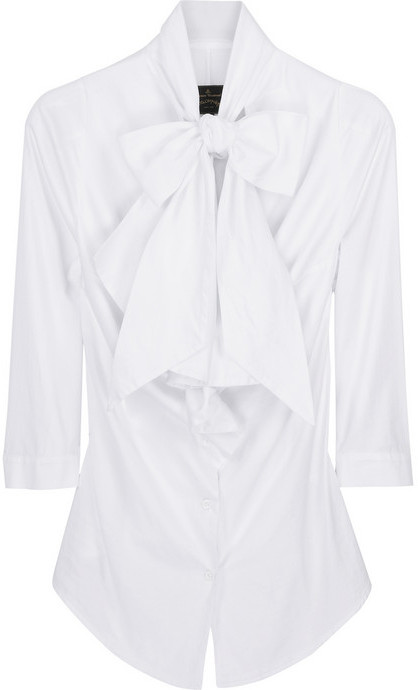 Vivienne Westwood Anglomania Jabot bow blouse