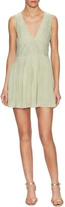 The Letter Women's Pleated A-Line Dress