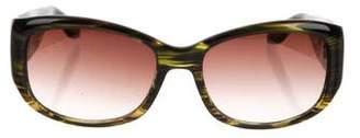 Barton Perreira Round Tinted Sunglasses