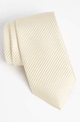 David Donahue Woven Silk Tie