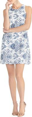 Rachel Roy Paisley Lace Shift Dress
