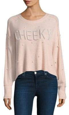 Wildfox Couture Cheeky Pearl Cherie Sweater