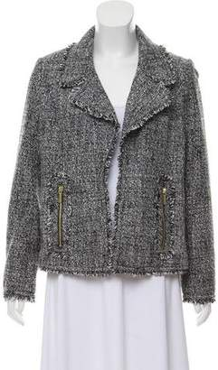 MICHAEL Michael Kors Tweed Open Front Jacket w/ Tags