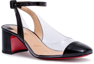 Christian Louboutin Asticocotte 55 black patent leather pumps