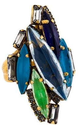 Erickson Beamon Crystal Cluster Ring