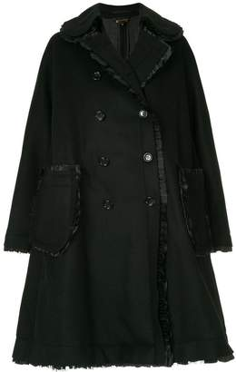 Comme des Garcons double-breasted flared coat