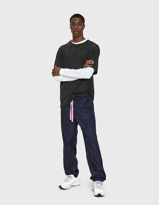 Acne Studios Face Track Pant in Navy