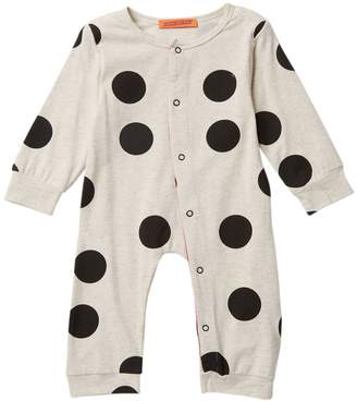 Funkyberry Polka Dot Coverall (Baby & Toddler Girls)