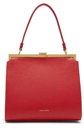 Mansur Gavriel Elegant Leather Bag - Womens - Red