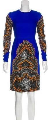 Stella McCartney Knee-Length Floral Print Dress w/ Tags
