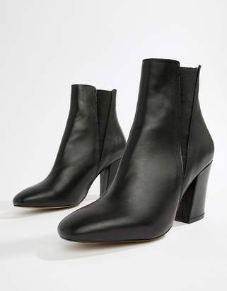 Asos Design DESIGN Evita leather chelsea boots