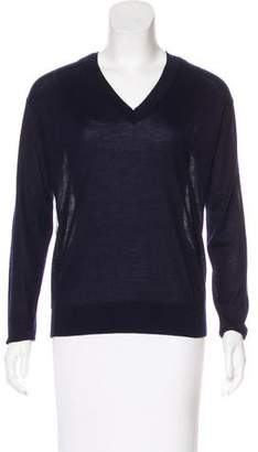 Derek Lam Silk-Paneled Cashmere Sweater