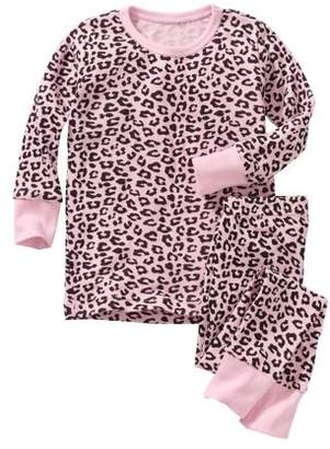 Baby Steps Newborn Baby Girl Long Sleeve 2 pc Pajama Set