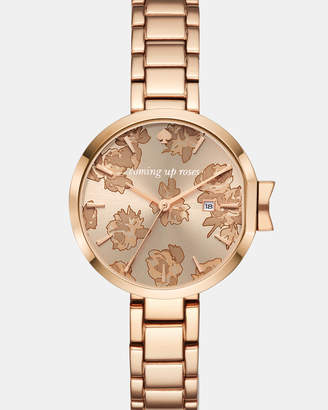 Kate Spade Park Row Rose Gold-Tone Analogue Watch
