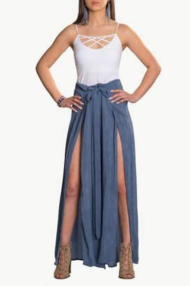 Elan International Wrap Flowy Pant