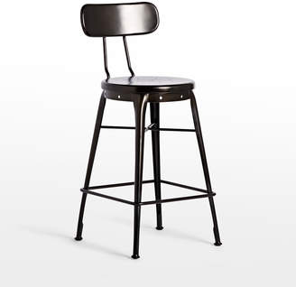 Rejuvenation Cobb Counter Stool with Back