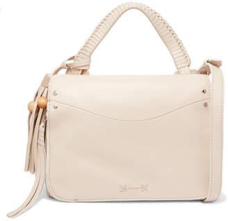 Elizabeth and James - Tasseled Leather Shoulder Bag - Cream $495 thestylecure.com
