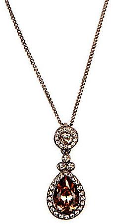 Givenchy Wingate Court Silk Pendant Necklace