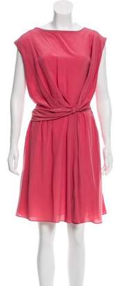 Cacharel Sleeveless Silk Dress w/ Tags