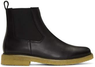A.P.C. Black Grisha Boots