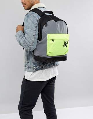 SikSilk backpack in reflective