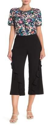 Nicole Miller Ruffle Pants