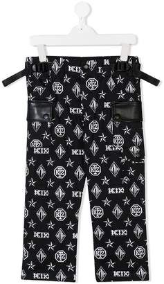 Kokon To Zai monogram print trousers