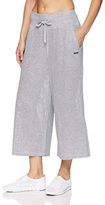 Calvin Klein Women's High Waist Wide Leg Crop Pant