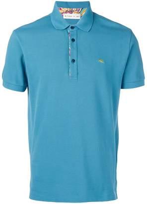 Etro chest logo polo shirt