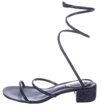 Rene Caovilla Wrap-Around Sandals