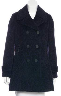 Rebecca Taylor Patterned Double-Breasted Coat