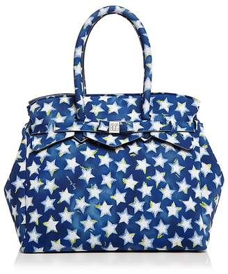 Save My Bag Miss Star Print Satchel $130 thestylecure.com