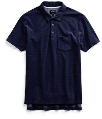 Todd Snyder Terry Polo in Indigo